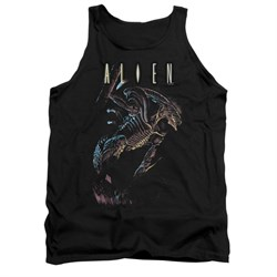 Image of Alien Shirt Tank Top Hanging Black Tanktop