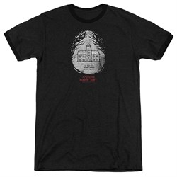 Image of American Horror Story Its Everywhere Black Ringer Shirt