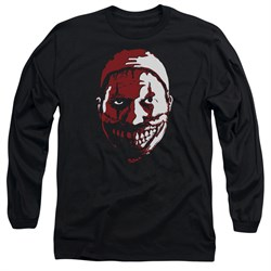 Image of American Horror Story Long Sleeve Shirt The Clown Black Tee T-Shirt