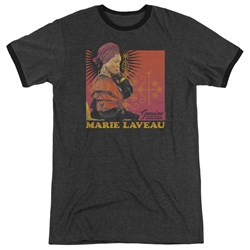 Image of American Horror Story Marie Laveau Charcoal Ringer Shirt