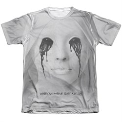 Image of American Horror Story Shirt Asylum Poly/Cotton Sublimation T-Shirt
