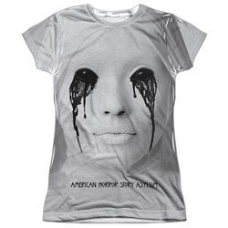 Image of American Horror Story Shirt Asylum Sublimation Juniors T-Shirt