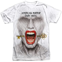 Image of American Horror Story Shirt Fear Face Sublimation T-Shirt