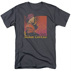 Image of American Horror Story Shirt Marie Laveau Charcoal T-Shirt