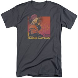 Image of American Horror Story Shirt Marie Laveau Charcoal Tall T-Shirt