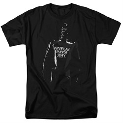 Image of American Horror Story Shirt Rubber Man Black T-Shirt