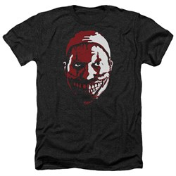 Image of American Horror Story Shirt The Clown Heather Black T-Shirt