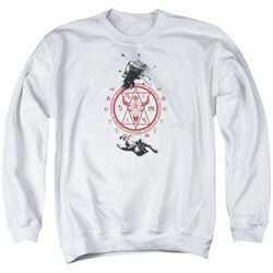 Image of American Horror Story Sweatshirt As Above So Below Adult White Sweat Shirt