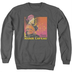 Image of American Horror Story Sweatshirt Marie Laveau Adult Charcoal Sweat Shirt