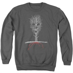 Image of American Horror Story Sweatshirt Scary Tree Adult Charcoal Sweat Shirt