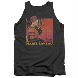 Image of American Horror Story Tank Top Marie Laveau Charcoal Tanktop