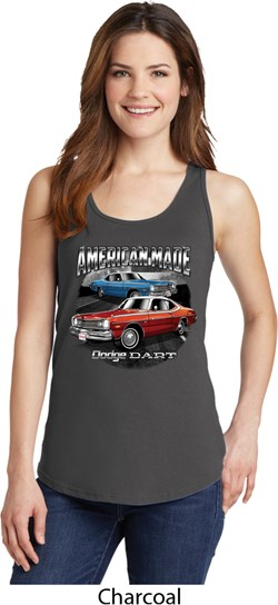 Image of American Made Dodge Dart Ladies Tank Top