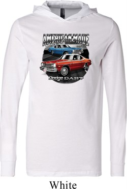 Image of American Made Dodge Dart Lightweight Hoodie Tee