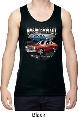Image of American Made Dodge Dart Mens Moisture Wicking Tanktop