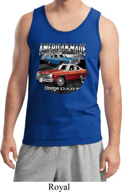 Image of American Made Dodge Dart Mens Tank Top