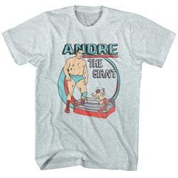 Image of Andre The Giant Shirt Cartoon Ash T-Shirt