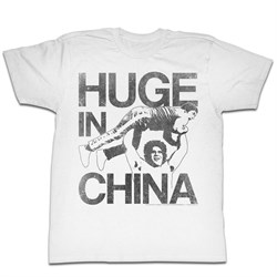 Image of Andre The Giant Shirt China White T-Shirt