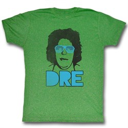 Image of Andre The Giant Shirt Dre Green T-Shirt