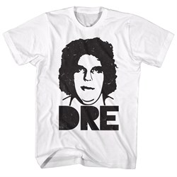 Image of Andre The Giant Shirt Dre White T-Shirt