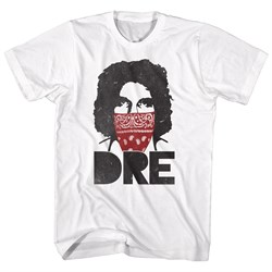 Image of Andre The Giant Shirt Red Bandana White T-Shirt