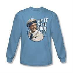 Image of Andy Griffith Nip It Long Sleeve Tee T-Shirt