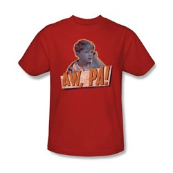 Image of Andy Griffith Show Shirt Aw Pa Adult Tee T-Shirt