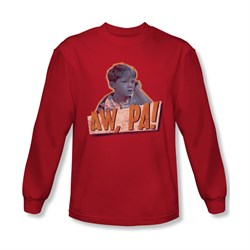 Image of Andy Griffith Show Shirt Aw Pa Long Sleeve Tee T-Shirt