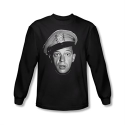 Image of Andy Griffith Show Shirt Barney Long Sleeve Tee T-Shirt