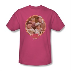 Image of Andy Griffith Show Shirt Boys Club Pink Adult Tee T-Shirt