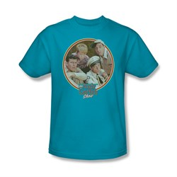 Image of Andy Griffith Show Shirt Boys Club Turquoise Adult Tee T-Shirt