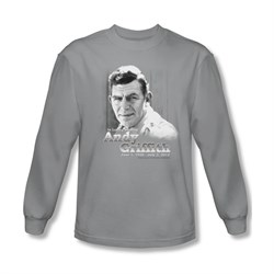 Image of Andy Griffith Show Shirt In Memory Of Long Sleeve Tee T-Shirt