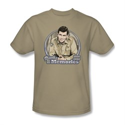Image of Andy Griffith Show Shirt Memories Adult Tee T-Shirt