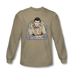 Image of Andy Griffith Show Shirt Memories Long Sleeve Tee T-Shirt