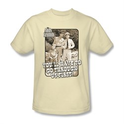 Image of Andy Griffith Through Us Tee T-Shirt