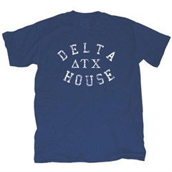 Image of Animal House Shirt Delta House Navy Blue Tee T-Shirt
