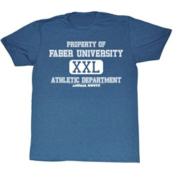 Image of Animal House Shirt Athletic Department Adult Blue Tee T-Shirt