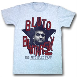 Image of Animal House Shirt Bluto Adult Blue Heather Tee T-Shirt