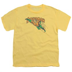 Image of Aquaman Kids Shirt Swim Through Banana T-Shirt