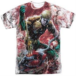 Image of Aquaman Shirt VS Manta Sublimation Shirt