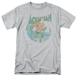 Aquaman Shirt Wave Athletic Heather T-Shirt