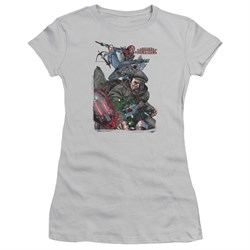 Image of Archer & Armstrong Juniors Shirt Fight Back Silver T-Shirt