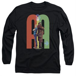 Image of Archer & Armstrong Long Sleeve Shirt Back To Back Black Tee T-Shirt