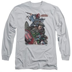 Image of Archer & Armstrong Long Sleeve Shirt Fight Back Silver Tee T-Shirt
