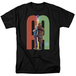 Image of Archer & Armstrong Shirt Back To Back Black T-Shirt