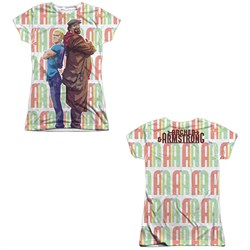 Image of Archer & Armstrong Shirt Back To Back Sublimation Juniors Shirt Front/Back Print