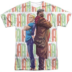 Image of Archer & Armstrong Shirt Back to Back Sublimation Shirt