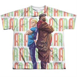 Image of Archer & Armstrong Shirt Back To Back Sublimation Youth Shirt