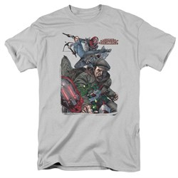 Image of Archer & Armstrong Shirt Fight Back Silver T-Shirt