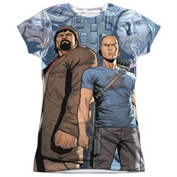 Image of Archer & Armstrong Shirt Heroes Sublimation Juniors Shirt
