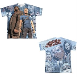 Image of Archer & Armstrong Shirt Heroes Sublimation Youth Shirt Front/Back Print